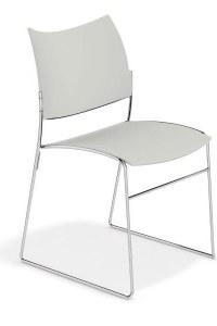 Curvy stoel